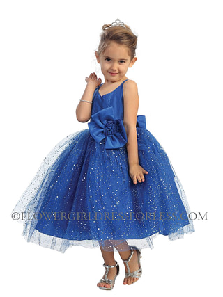 available at Spotlight Formal Wear sparkle flower girl dress