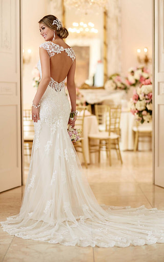 Check out this breathtaking train! Available at Spotlight Formal Wear! #SpotlightBridal