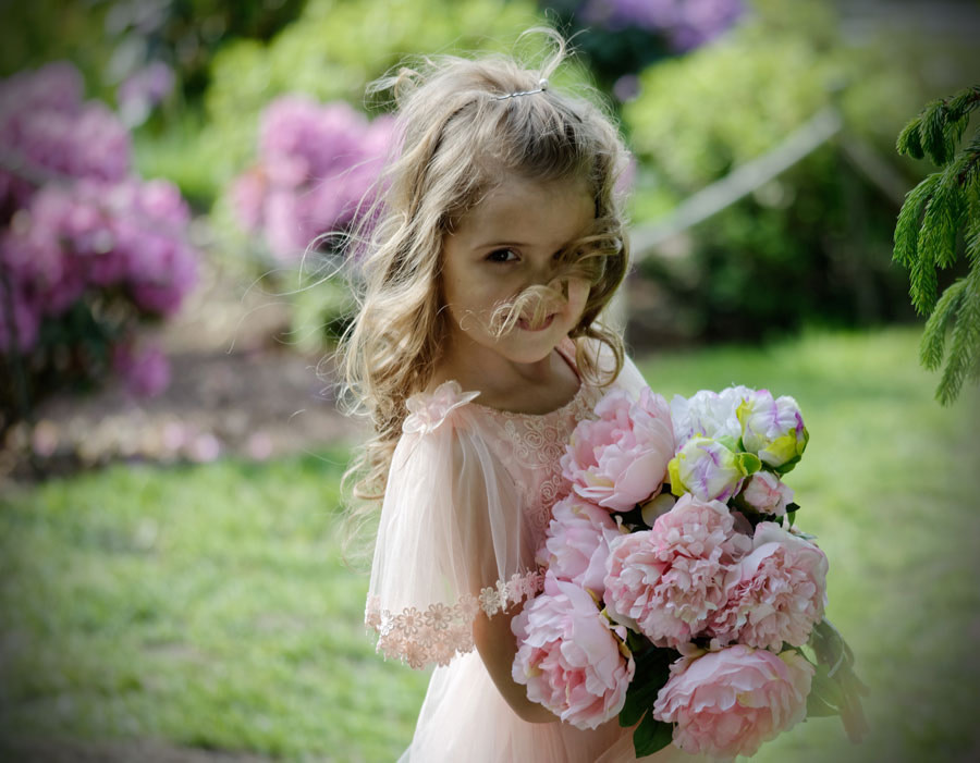 flower girl photo